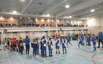 Geslaagd zaalvoetbal weekend in Almere !.