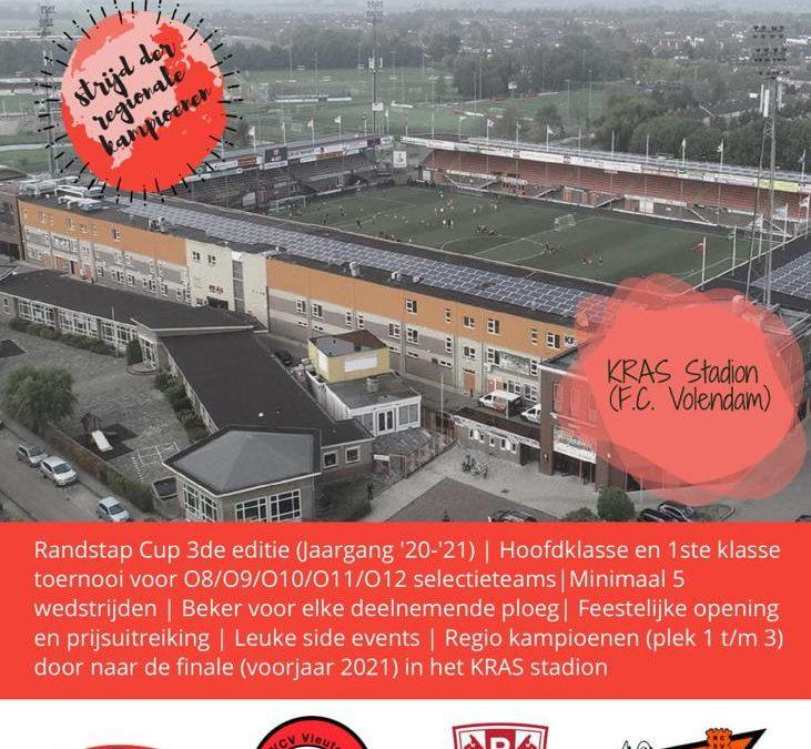 Randstad Cup regio toernooien binnen 2 weken al volledig vol !