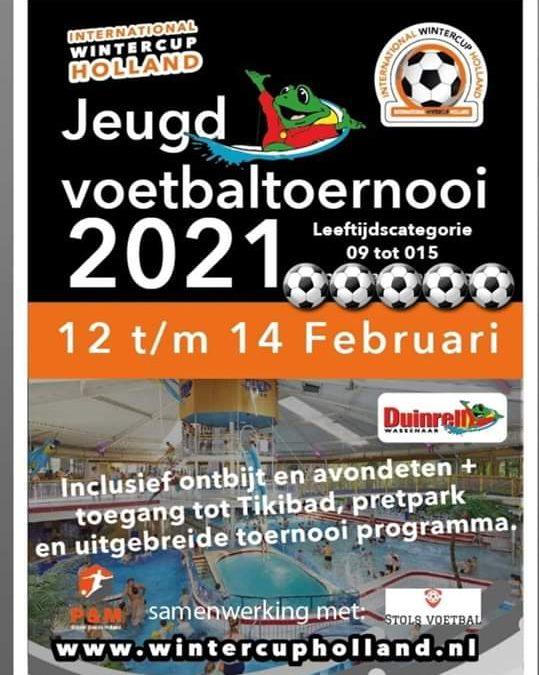 Inschrijving Wintercup Holland Jeugd ( 12 – 14 februari 2021 ) geopend !.
