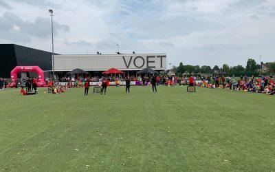 PVCV Zomervoetbaldagen met 180 kinderen een perfecte seizoensstart !.