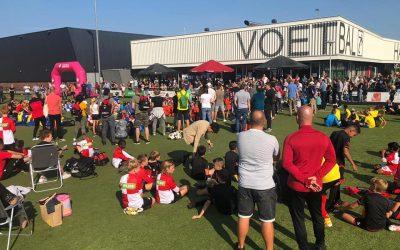 Randstad Cup Utrecht geslaagde en zonnige voetbaldag in Vleuten !.